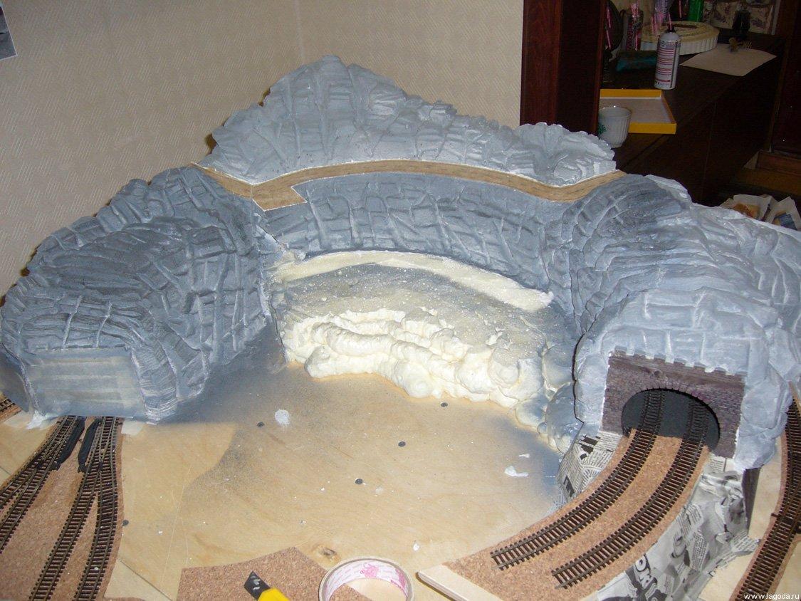 Лагода » Макет железной дороги