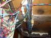 Проводка под крышкой стола